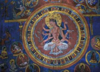 Buddhist Fresco and Monument tour Himalaya